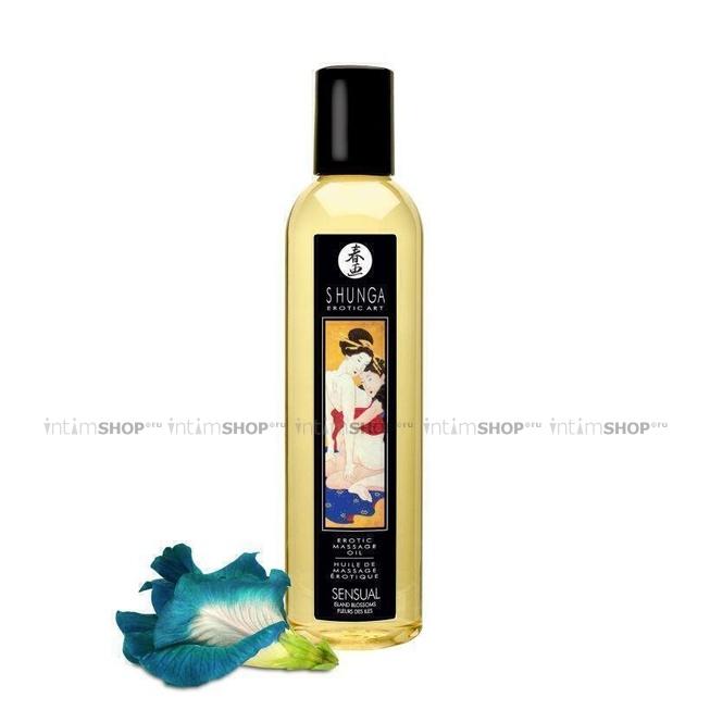 Массажное масло Shunga Island Blossoms, 250мл