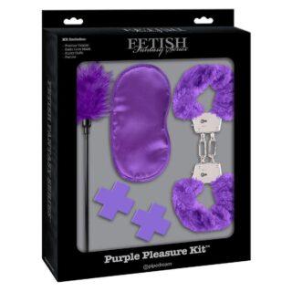 Набор аксессуаров Pipedream Fetish Fantasy Series Purple Pleasure Kit, фиолетовый