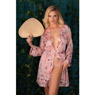 Пеньюары LivCo Corsetti Fashion LC 90599 Marnivma szlafrok, Розовый, S/M