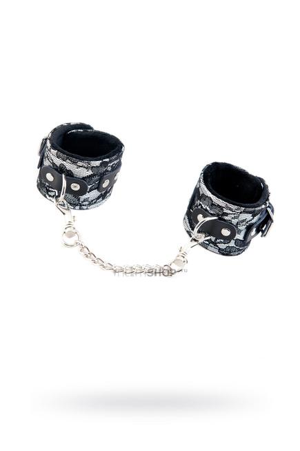 Кружевные наручники Toyfa Marcus, серебристый