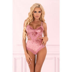 Боди LivCo Corsetti Fashion LC 90591 Magrin body, Розовый, L/XL