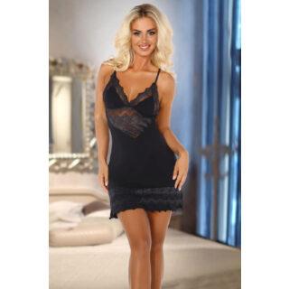 Сорочка Beauty Night Petra Black, Чёрный, L/XL