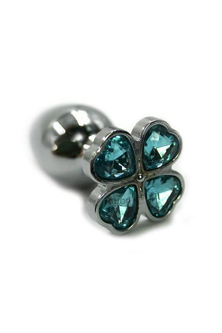 Анальная пробка из алюминия Kanikule Baby, голубая