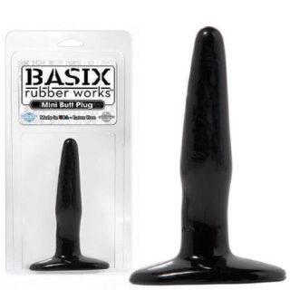 Анальная пробка PipeDream Basix Rubber Works, черная