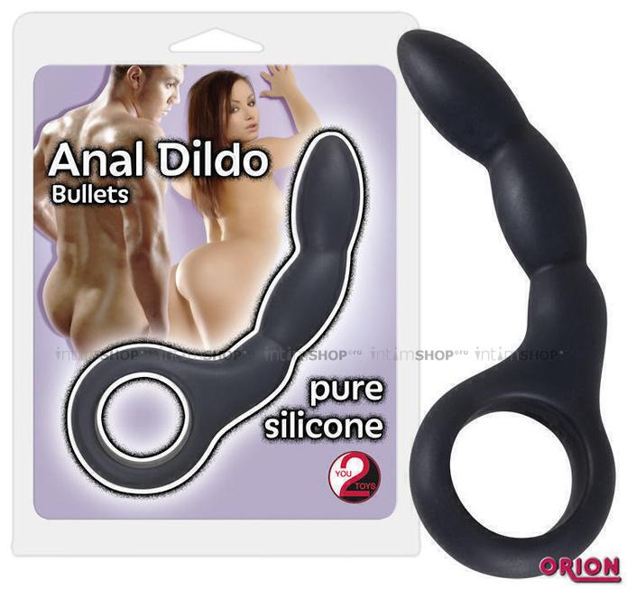 Анальный стимулятор Orion You2Toys Anal Dildo Bullets, черный