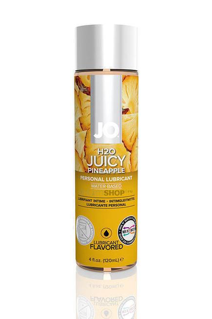 Ароматизированный лубрикант JO Flavored Juicy Pineapple 120 мл