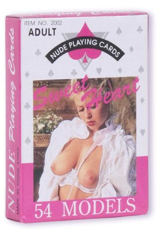 Карты игральные NUDE FEMALE PLAYING CARDS