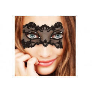 Ажурная маска Lingerie Mask, черная