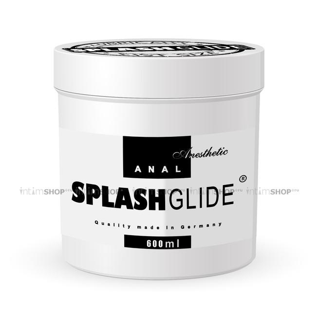 Лубрикант Splashglide Анальный Фистинг обезболивающий, на водной основе, 600 мл
