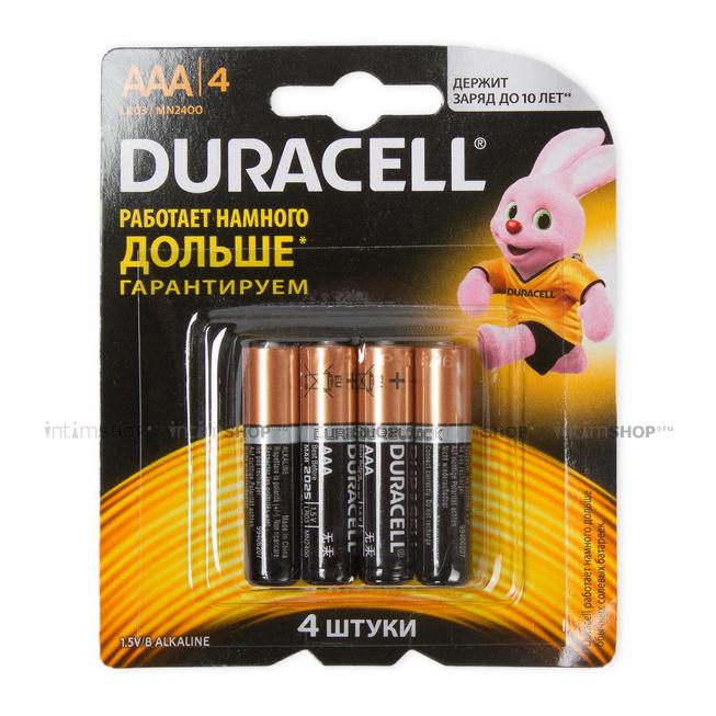 Батарейки Duracell ААА/LR03 4 шт