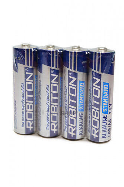 Батарейки Robiton R6 пальчиковые