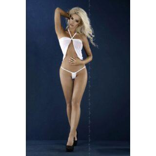 Белая сорочка и стринги Diana L/XL
