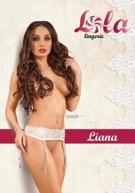 Белоснежный кружевной пояс Lola Lingerie Liana