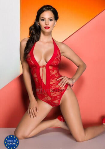 Боди Avanua Rayen body red, красный, S/M