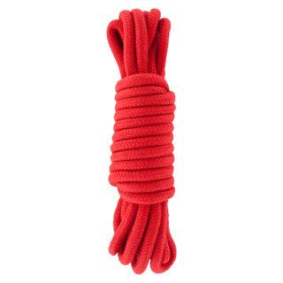 Бондаж для Связывания Bondage Rope 5 метров, красная