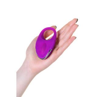 Виброкольцо с ресничками перезаряжаемое Jos Rico, фиолетовый