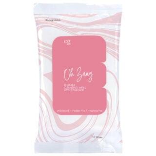 Женские очищающие салфетки со стимулятором CG OH ZANG 10 шт