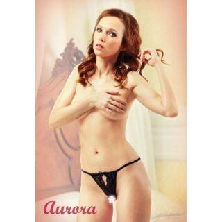 Черные трусики с доступом Lola Lingerie Aurora, 54-56