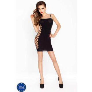 Черное мини-платье BS026 OS