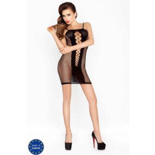 Черное мини-платье BS027 OS