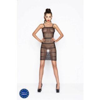 Черное мини-платье BS033 OS