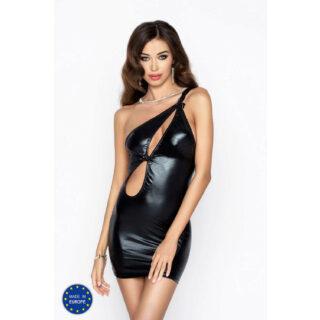 Черное мини-платье Cornelia S/M