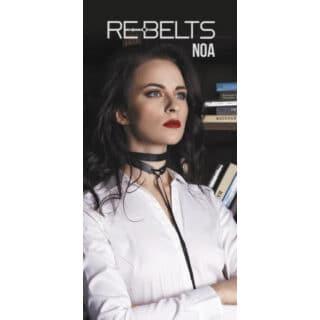 Чокер два оборота Noa Rebelts, черный, OS