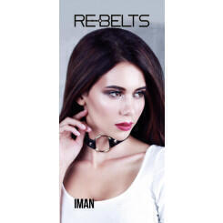 Чокер-кляп Iman Rebelts, черный, OS