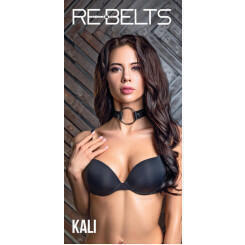 Чокер с кольцом Kali Rebelts, черный