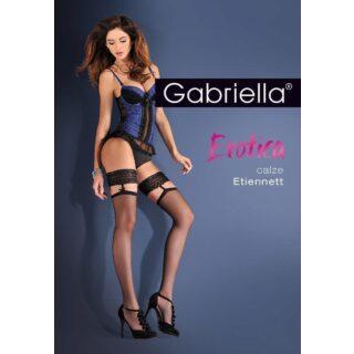 "Чулки Gabriella ""Calze Etiennett Nero"", цвет черный, размер L/XL"