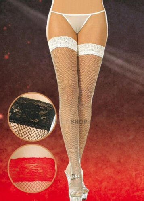 Чулки-Сетка Soft Line белые, XXL 551725 | Soft Line collection ...