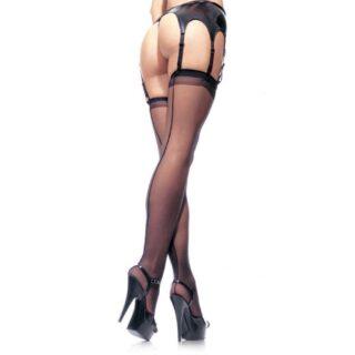 Чулки Sheer Stockings, цвет красный, размер OS