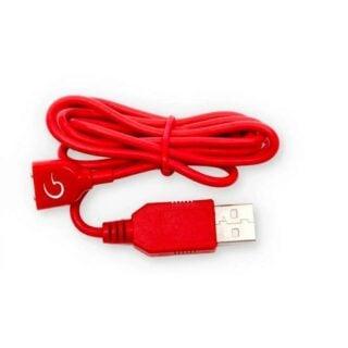 Зарядное устройство Gvibe Magnetic charging cord red