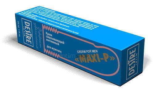 Эрекционный крем для мужчин - Desire Maxi-P, 30 мл