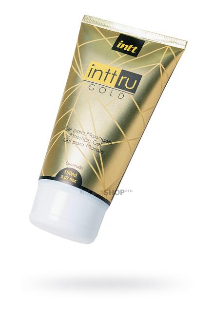 Массажный гель INTT Ru Gold с цветочным ароматом, 150 мл туба