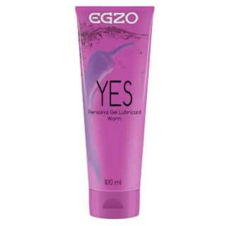 Лубрикант разогревающий Egzo Yes на водной основе, 100 мл