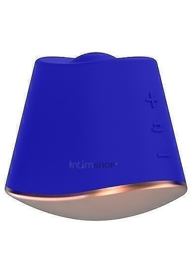 Клиторальный ротатор-стимулятор Shots Dazzling, синий