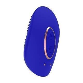 Клиторальный мини-стимулятор Shots Precious, синий