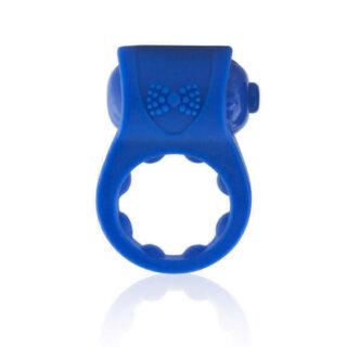 Эрекционное Кольцо из Силикона PrimO Tux, синее