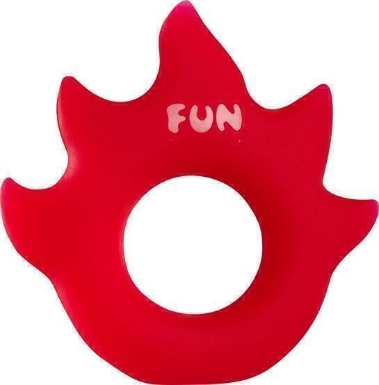 Эрекционное кольцо Fun Factory Love Ring Flame, цвет красный