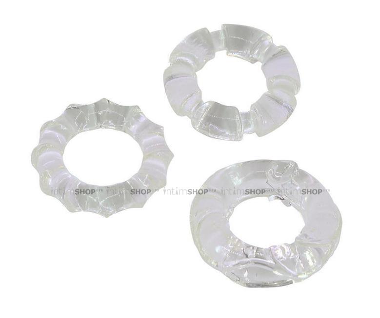 Эрекционное кольцо прозрачное Gopaldas