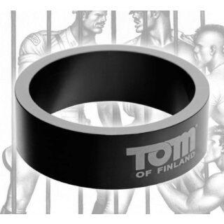 Эрекционное Кольцо Tom of Finland из металла - 6 см