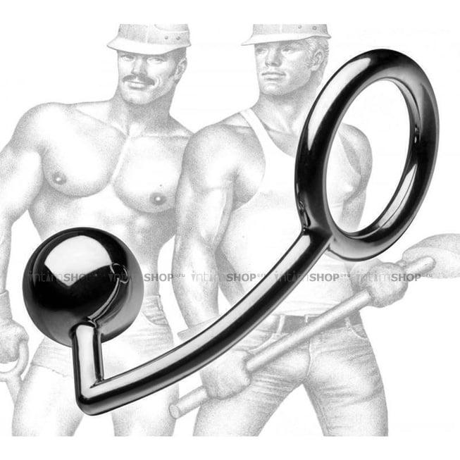 Эрекционное Кольцо Tom of Finland с Анальным Шаром фото