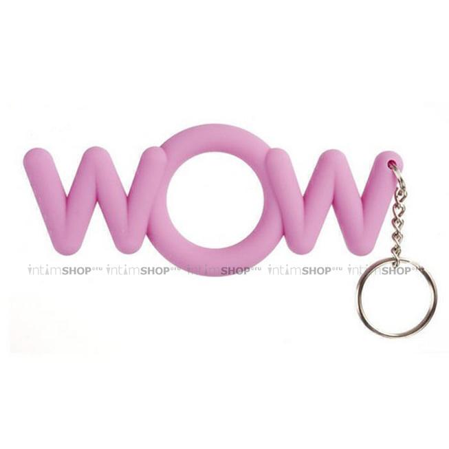 Эрекционное кольцо WOW Cocking, розовое