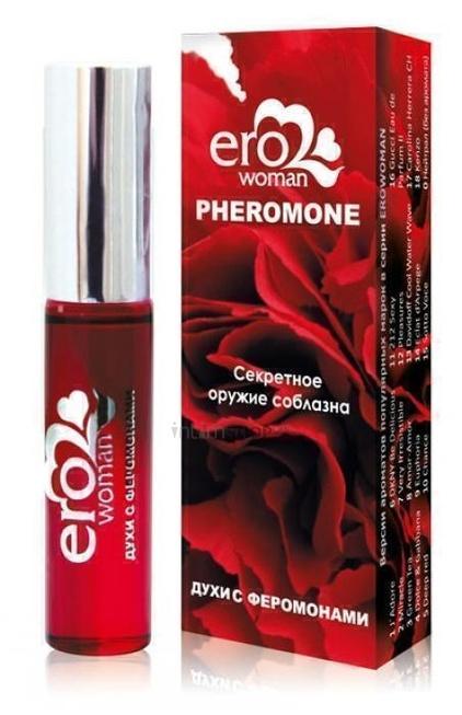 Erowoman №11 Женские духи с феромонами флакон ролл-он 10мл