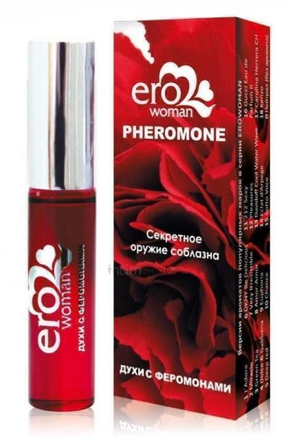 Erowoman №8 Женские духи с феромонами флакон ролл-он 10мл