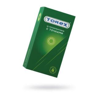 Презервативы точечные Torex №12