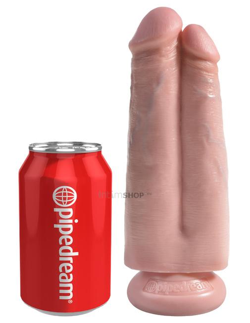 Фаллоимитатор PipeDream King Cock 178 см двойной на присоске