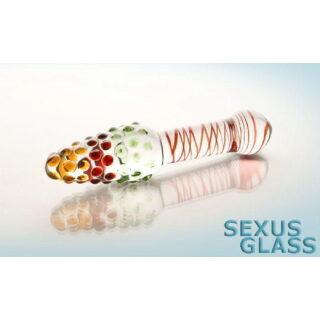 Фаллоимитатор Sexus Glass, прозрачный
