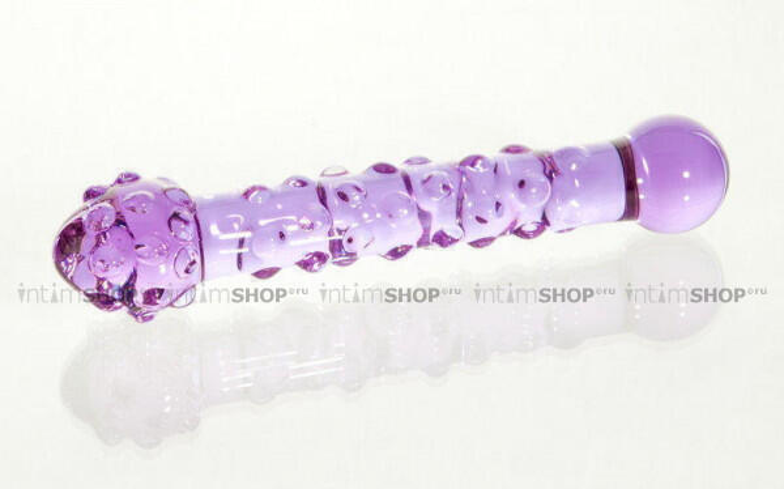Фаллоимитатор анальный Sexus Glass, фиолетовый